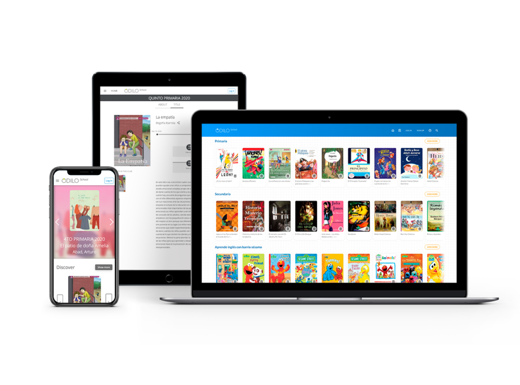 Biblioteca Digital Inteligente ODILO School